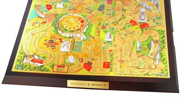 Настольная игра из драгоценных металлов, представленная ювелирной компанией Tanaka Kikinzoku Kogyo