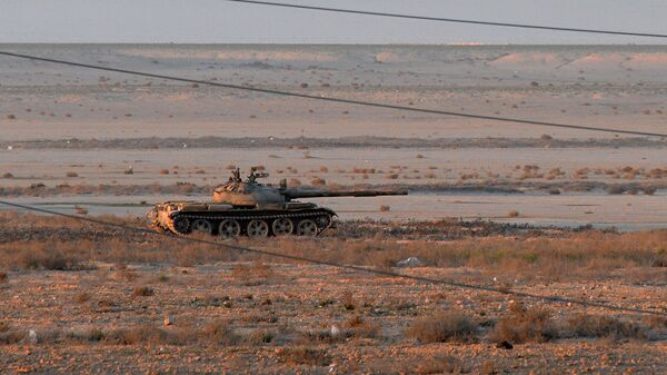 Танк Т-62 в Сирии