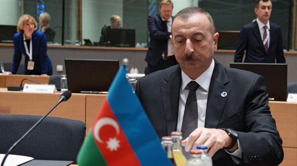 Президент Азербайджана Ильхам Алиев на 5-м Саммите Восточного партнерства в Брюсселе