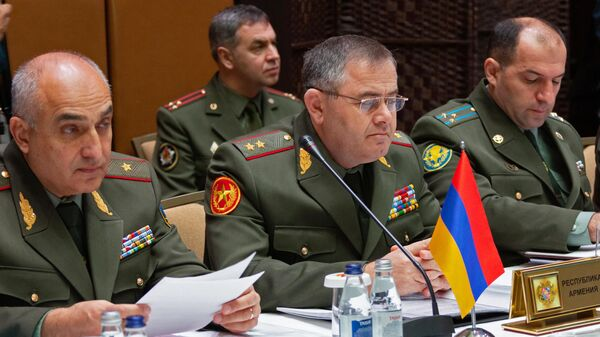 Начальник Генерального штаба Вооруженных сил Республики Армения генерал-лейтенант Артак Давтян