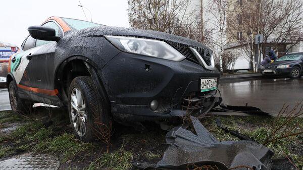 Автомобиль сервиса московского каршеринга