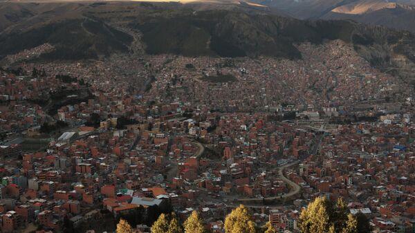 Вид города Ла-Пас