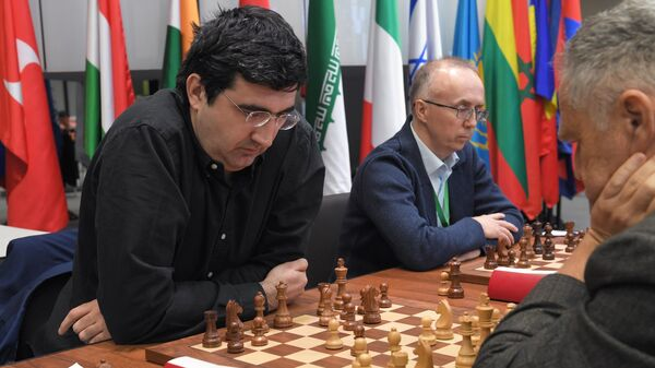 Российский шахматист Владимир Крамник