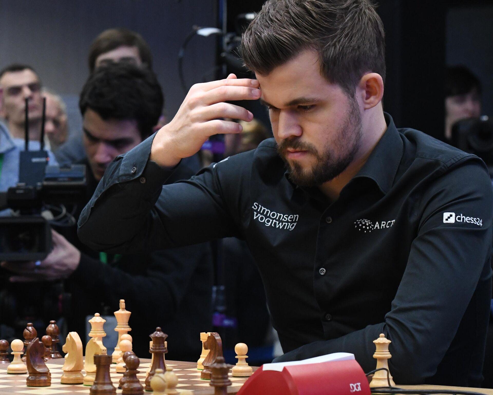 Норвежский гроссмейстер Магнус Карлсен - РИА Новости, 1920, 05.08.2021