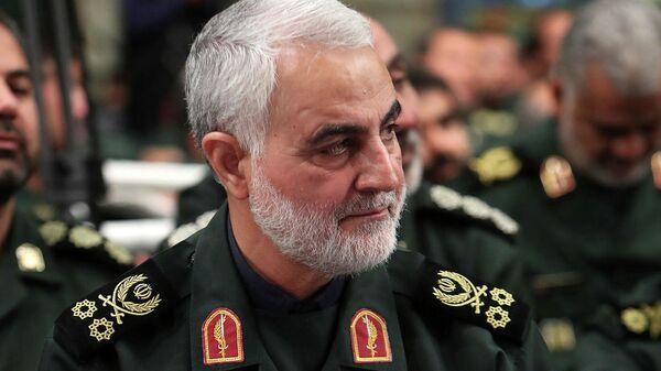Глава спецподразделения Кудс иранского Корпуса стражей революции генерал Касем Сулеймани
