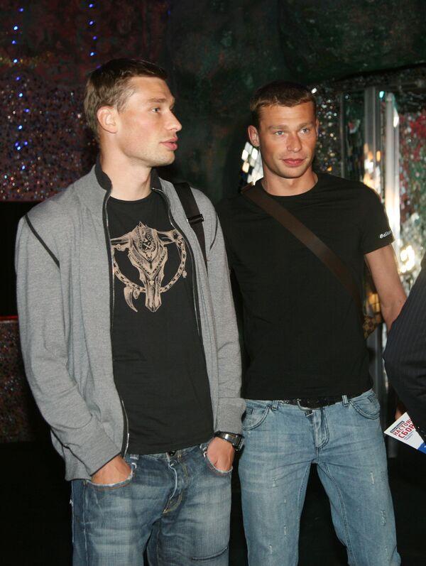 Василий и Алексей Березуцкие (слева направо). Архив
