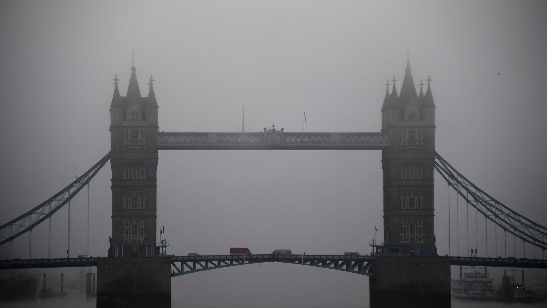 Вид на Тауэрский мост в Лондоне - РИА Новости, 1920, 15.10.2020