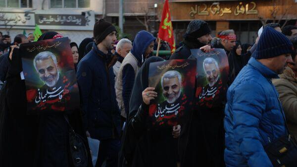 Прощание с Касемом Сулеймани в Тегеране. 6 января 2020