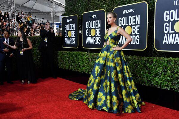 Тейлор Свифт на 77-й ежегодной премии Золотой глобус