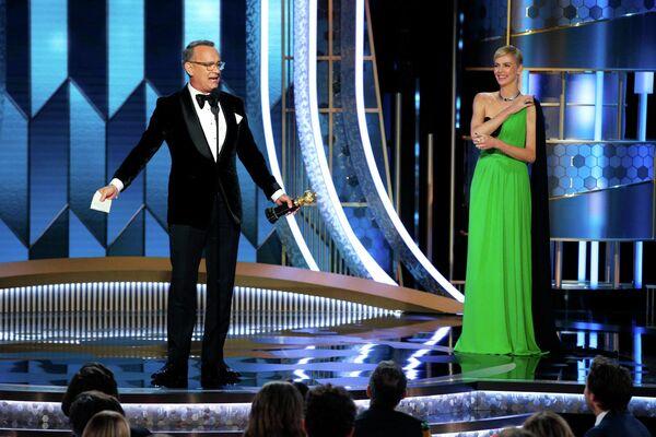 Том Хэнкс получил почетный Золотой глобус им. Сесила Б. ДеМилля за карьерные достижения