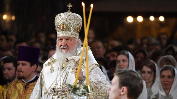 Рождество Христово. Патриаршая литургия в Храме Христа Спасителя