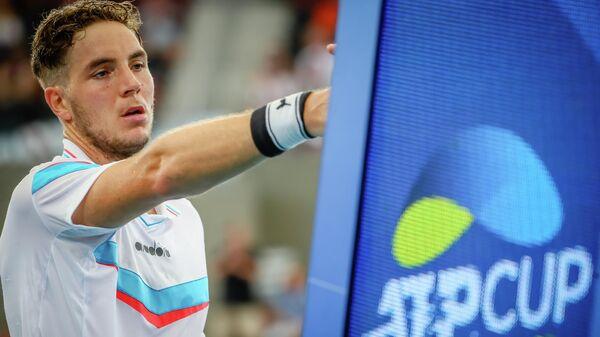 Теннисист Ян-Леннард Штруфф (Германия)