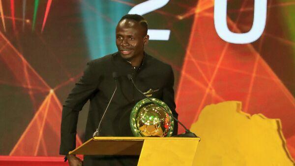 Нападающий сборной Сенегала и Ливерпуля Садио Мане