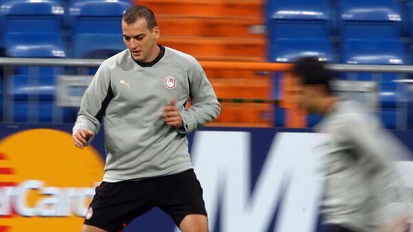 Сербский футболист Дарко Ковачевич