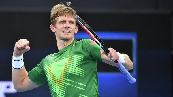 Южноафриканский теннисист Кевин Андерсон