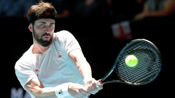 Теннисист сборной Грузии Николоз Басилашвили