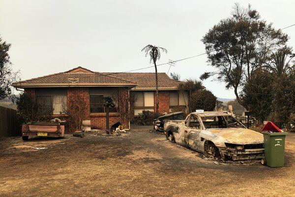 Последствия лесных пожаров в Австралии