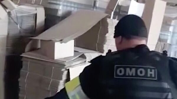 Ликвидация цеха по производству поддельного алкоголя в Ростове-на-Дону