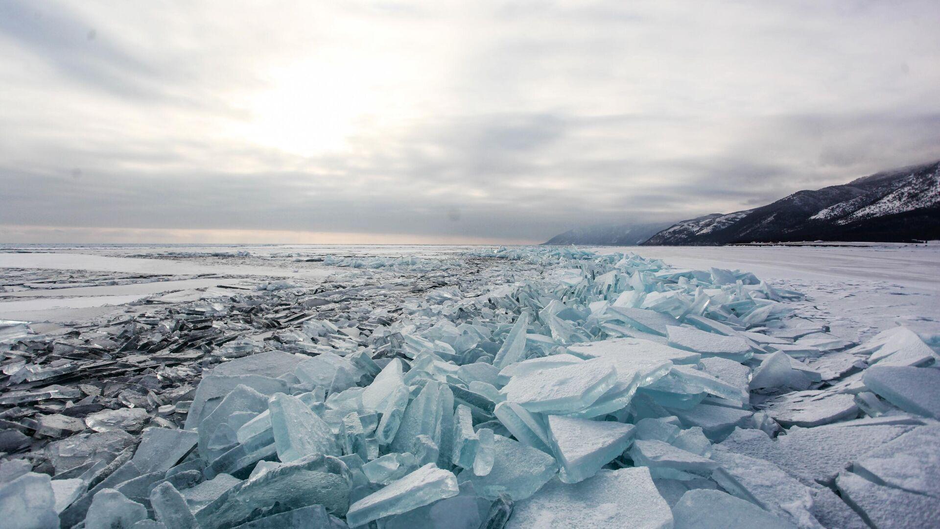 Лед на озере Байкал - РИА Новости, 1920, 01.03.2021
