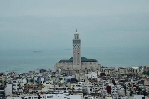 Мечеть Хасана II в Касабланке.
