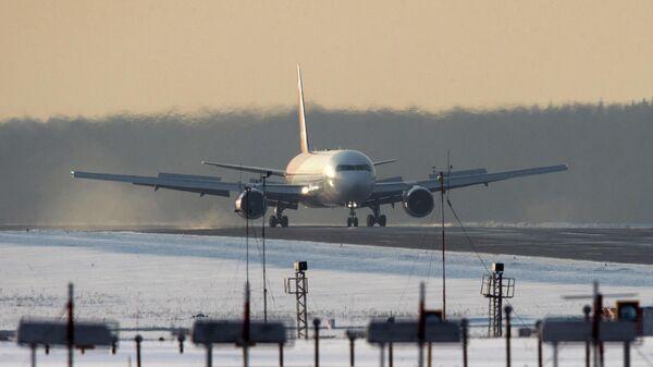 Самолет Airbus A321 авиакомпании Nordwind