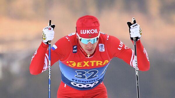 Лыжник Глеб Ретивых (Россия)