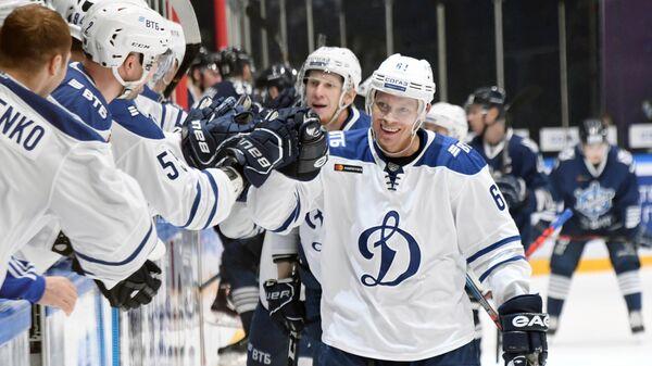 Игрок Динамо Максим Афиногенов