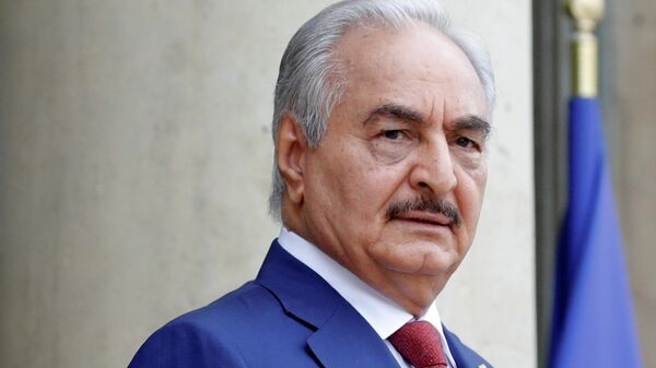 Верховный главнокомандующий Ливийской национальной армии Халифа Хафтар