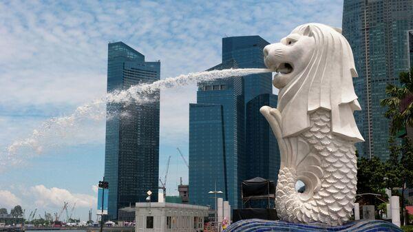 Статуя Мерлайона в Сингапуре