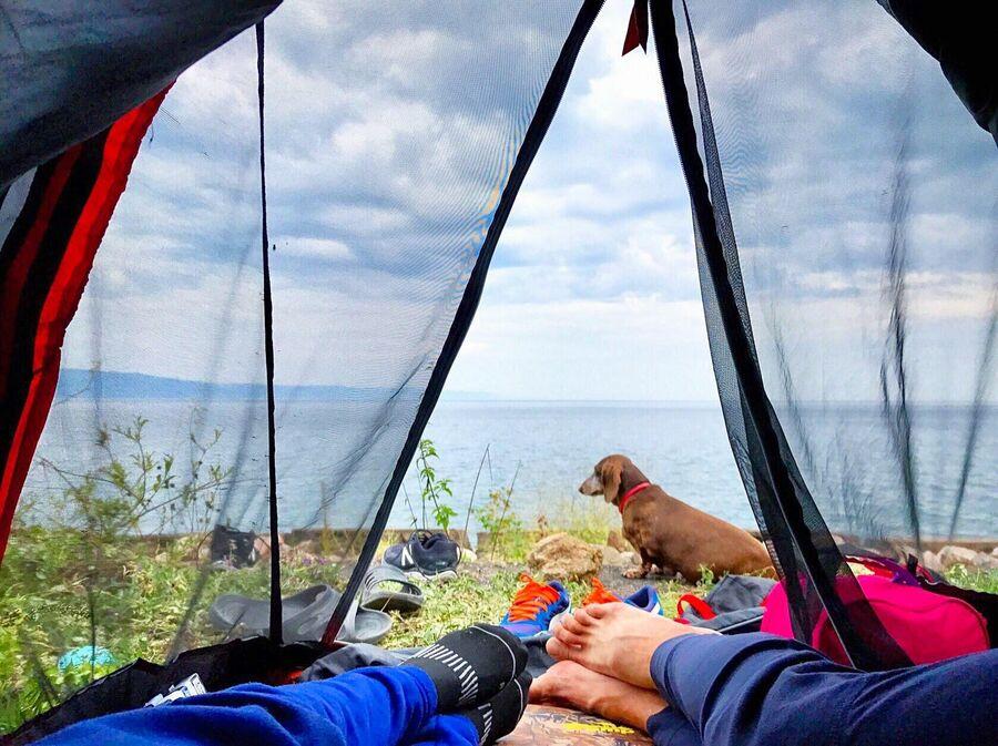 Байкал, днёвки на отдых
