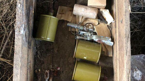 Боеприпасы, обнаруженные на востоке Крыма
