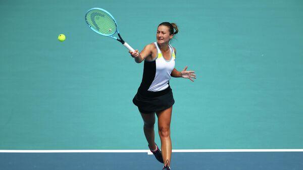 Словенская теннисистка Далила Якупович
