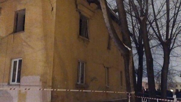 Жилой дом в Уфе, где произошел хлопок газа. 15 января 2020