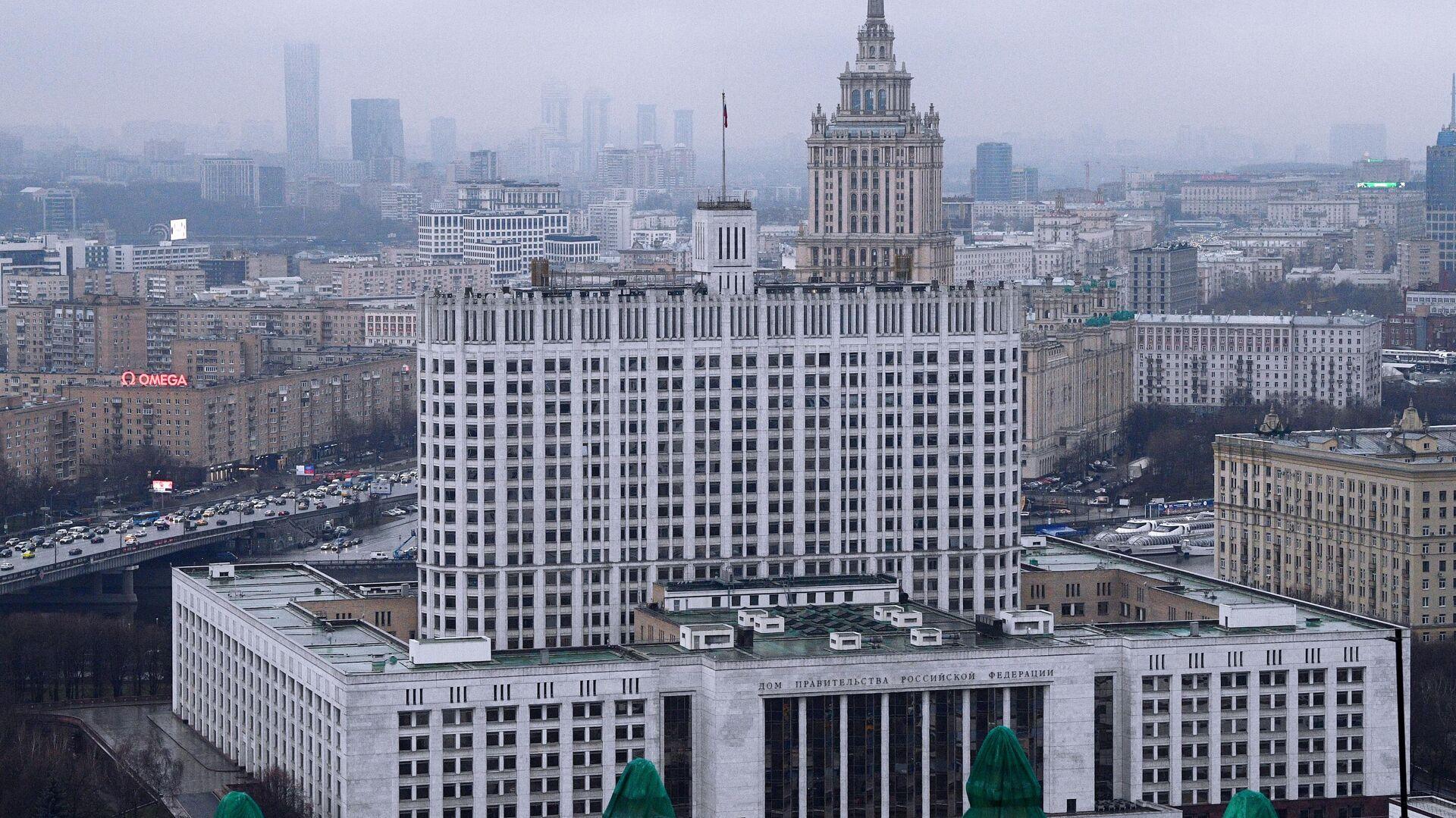 Здание правительства РФ  - РИА Новости, 1920, 12.05.2021