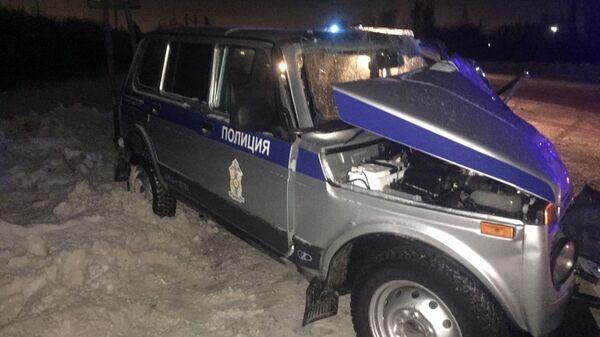 На месте ДТП с участием четырех автомобилей в Омской области