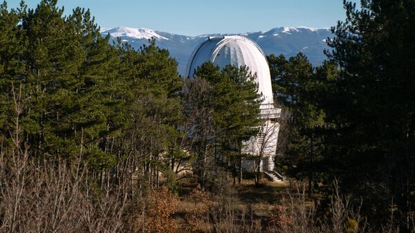 Башня телескопа