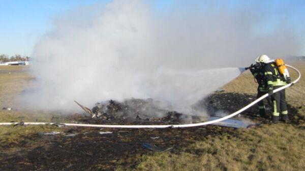 Легкомоторный самолет разбился при приземлении на аэродроме города Штраусберг в немецкой федеральной земле Бранденбург. 16 января 2019