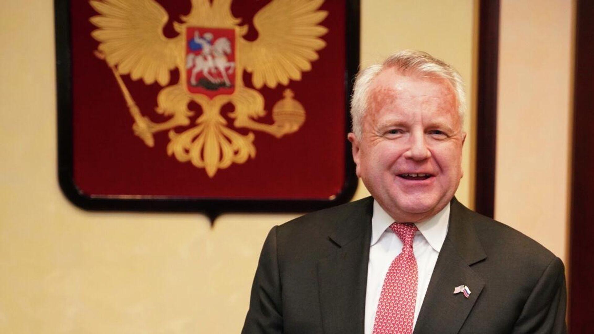 Посол США в России Джон Салливан прибыл в Москву - РИА Новости, 1920, 21.06.2021