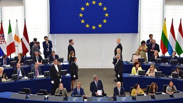 Сессия Европейского парламента в Страсбурге