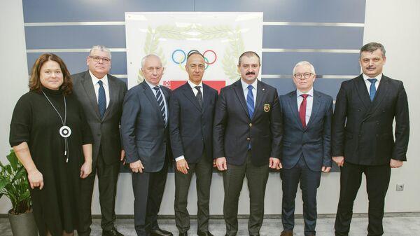 Руководство UEC и представители белорусской стороны в Минске