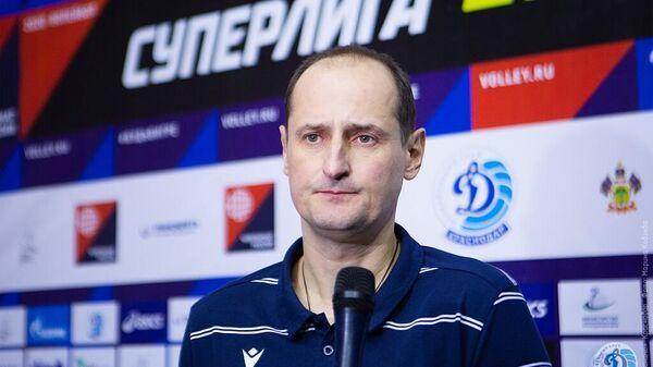 Главный тренер краснодарского Динамо Константин Ушаков