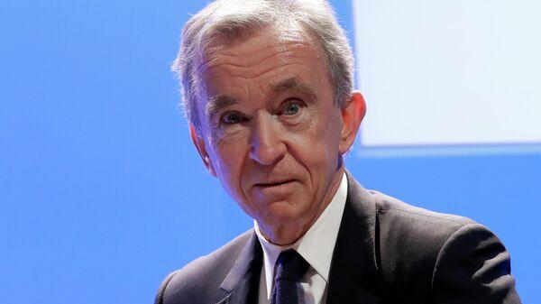 Французский бизнесмен, президент группы компаний Louis Vuitton Moët Hennessy Бернар Арно