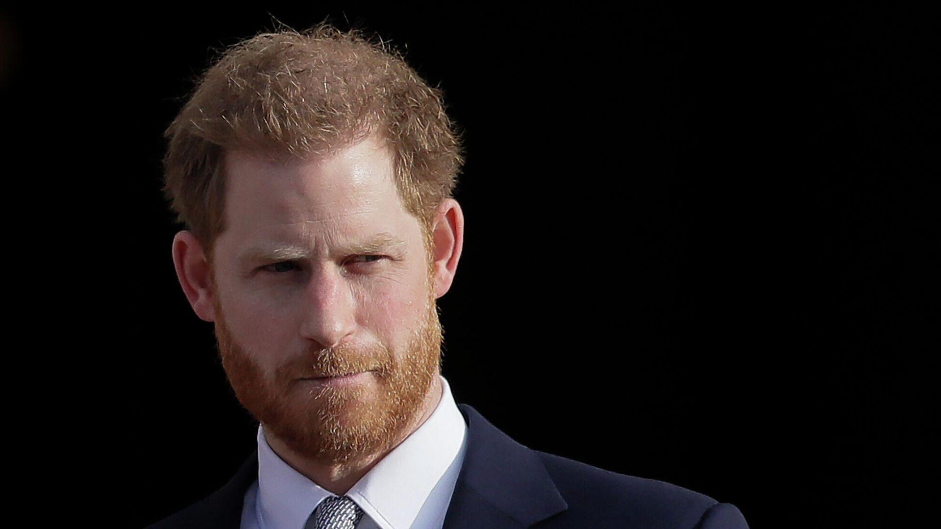 Британский принц Гарри в Букингемском дворце в Лондоне - РИА Новости, 1920, 08.03.2021