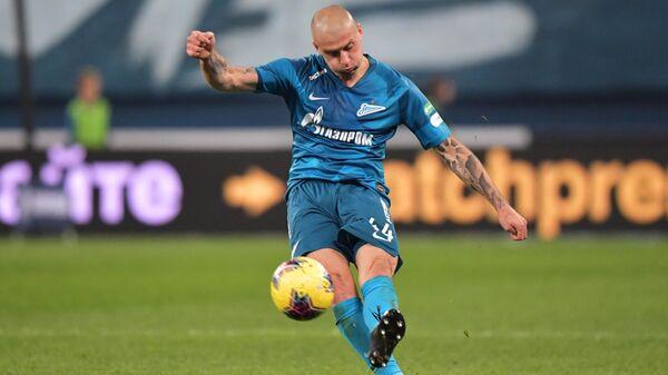 Игрок ФК Зенит Ярослав Ракицкий