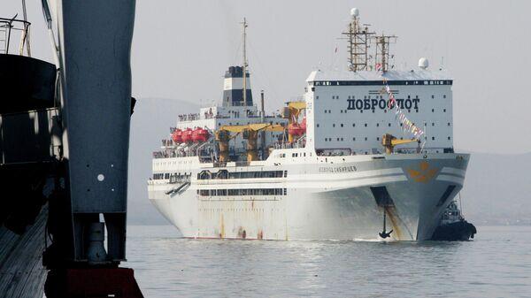 Крупнейший в мире плавзавод Всеволод Сибирцев, принадлежащий компании Доброфлот