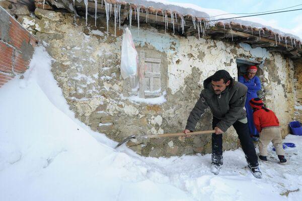 Снег в Алжире
