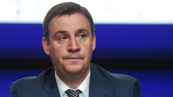 Министр сельского хозяйства Российской Федерации Дмитрий Патрушев