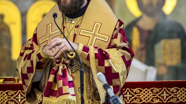 Митрополит Волоколамский, викарий патриарха Московского и всея Руси Иларион