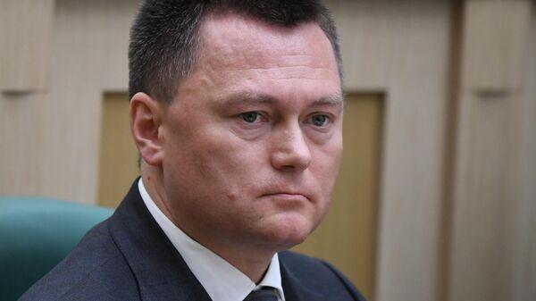 Игорь Краснов на заседании Совета Федерации РФ