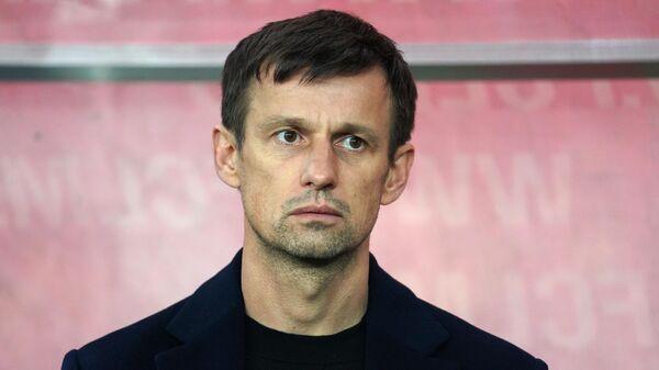 Главный тренер Зенита Сергей Семак